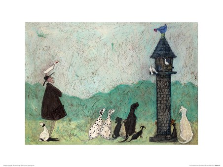 Framed An Audience With Sweetheart - Sam Toft