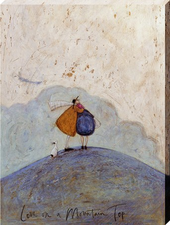 Framed Love On A Mountain Top - Sam Toft