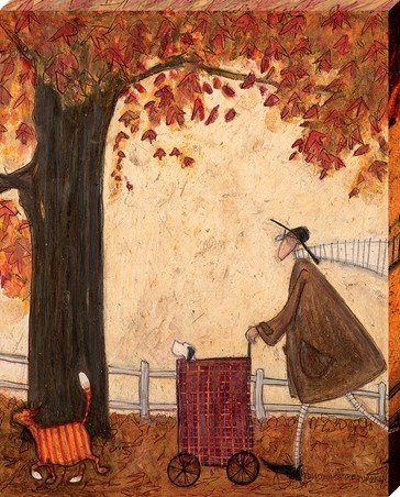 Following The Pumpkin - Sam Toft