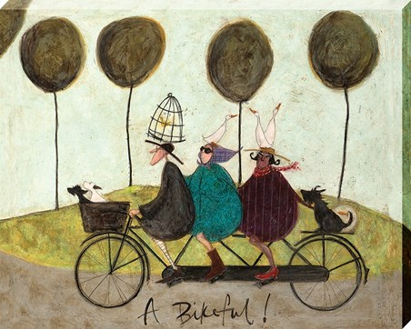 A Bikeful! - Sam Toft