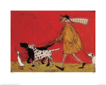 Framed Walkies - Sam Toft
