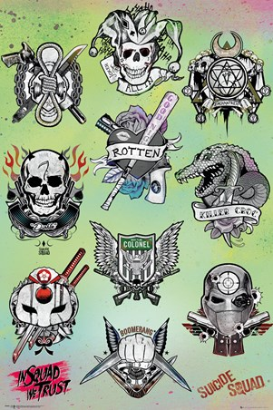 Tattoo Parlor - Suicide Squad