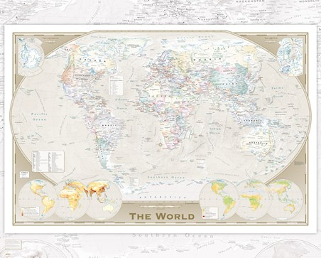 Tripel - World Map