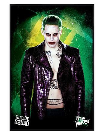 Gloss Black Framed The Joker - Suicide Squad