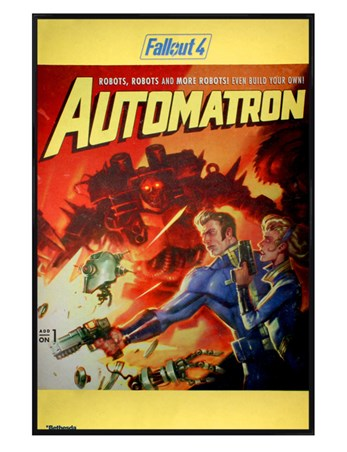 Gloss Black Framed Automatron - Fallout 4