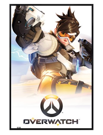 Gloss Black Framed Key Art - Overwatch
