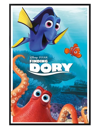 Gloss Black Framed Characters - Finding Dory