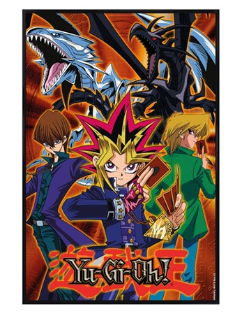 Gloss Black Framed Group - YU GI OH!