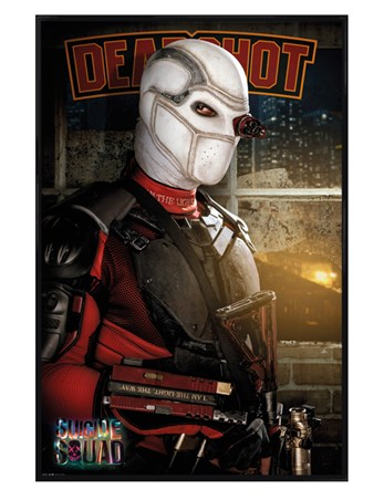 Gloss Black Framed Deadshot - Suicide Squad