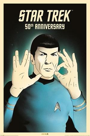 Spock 5-0 50th Anniversary - Star Trek