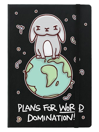 Plans For World Domination - It's A Bunnies World