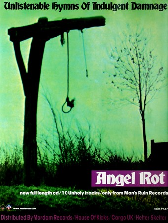 Unlistenable Hymns of Indulgent Damage - Angel Rot - Frank Kozik