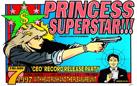 Princess Superstar!!! - Frank Kozik