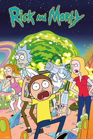 Rick and Morty Group - Cartoon Sitcom