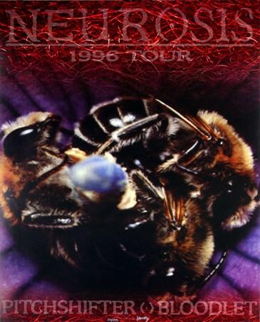 Neurosis 1996 Tour - Frank Kozik