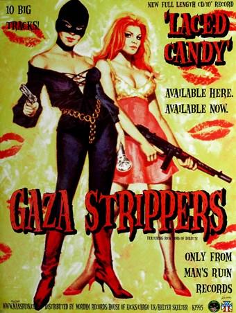 Gaza Strippers - Frank Kozik