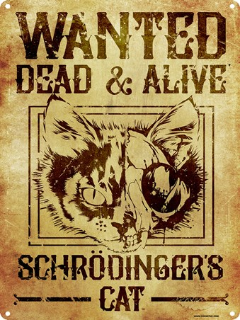 Dead & Alive - Wanted Schrödinger's Cat