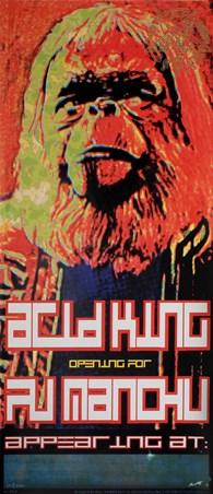 Acid King / Fu Manchu - Frank Kozik