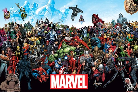 A Crazy World! - Marvel Universe