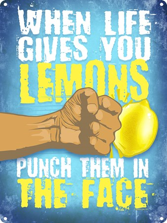 Punch Them In The Face - When Life Gives You Lemons