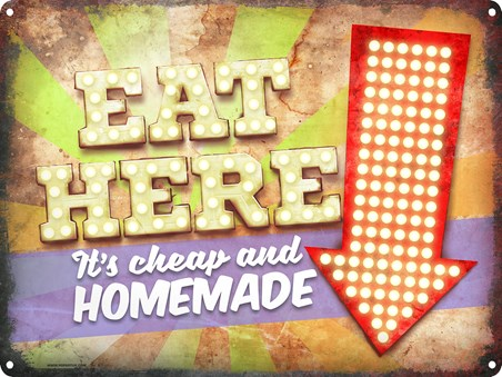 Eat Here! - It's Cheap & Homemade