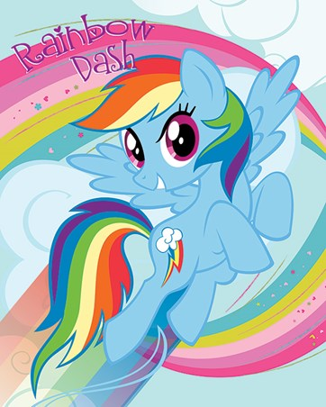 Rainbow Dash - My Little Pony