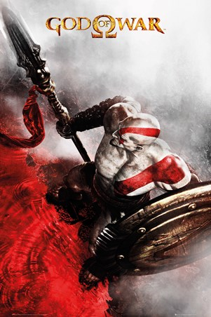 Kratos, God Of War Poster - Buy Online