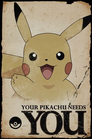 Pikachu Needs You - Pokemon