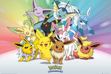 Eevee Evolution, Pokemon