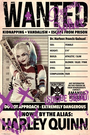 Harley Wanted - Suicide Squad