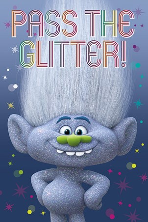 Guy Diamond Trolls Poster Buy Online
