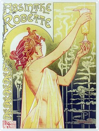 Absinthe Robette - Henri Privat-Livemont