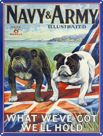 What We've Got We'll Hold - Navy & Army Illustrated