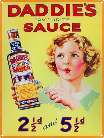 Daddie's Favourite Sauce - Classic Advertising