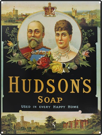 Used in Every Happy Home - Hudson's Soap