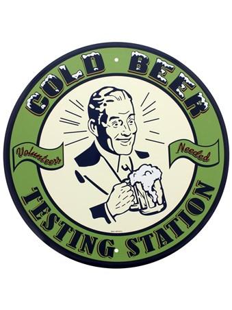 Volunteers Needed - Cold Beer Testing Station