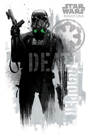 Death Trooper Grunge - Star Wars Rogue One