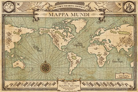 Mappa Mundi - Fantastic Beasts And Where To Find Them