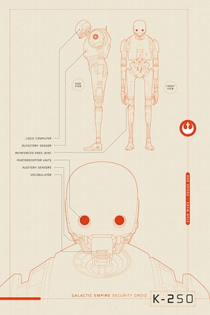 K-2S0 Plans - Star Wars Rogue One