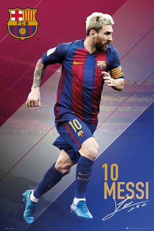 Lionel Messi 16/17 - Barcelona Football Club