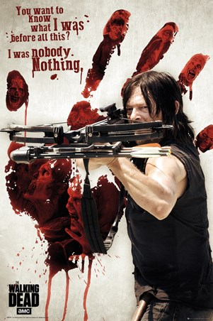 Bloody Hand Daryl - The Walking Dead