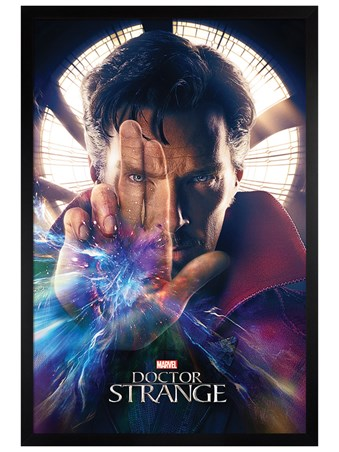 Black Wooden Framed Magic Hand - Dr Strange