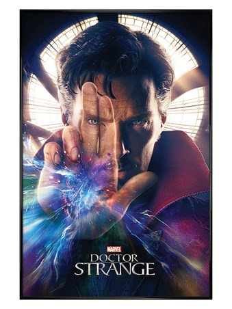 Gloss Black Framed Magic Hand - Doctor Strange