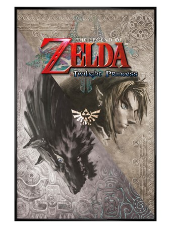 Gloss Black Framed Twilight Princess - Legend Of Zelda
