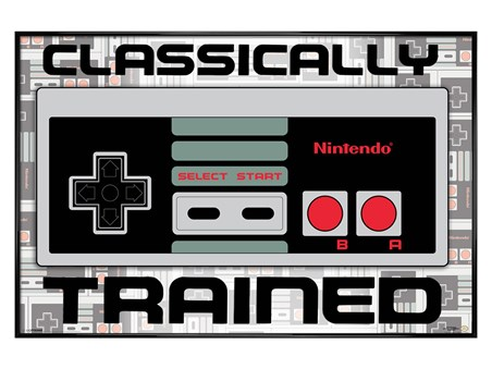 Gloss Black Framed Classically Trained - Nintendo
