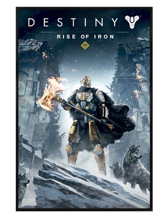 Framed Gloss Black Framed Rise Of Iron - Destiny
