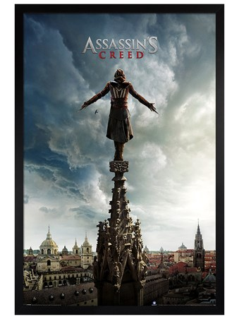 Black Wooden Framed Spire Teaser - Assassin's Creed