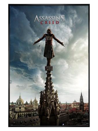 Gloss Black Framed Spire Teaser - Assassin's Creed