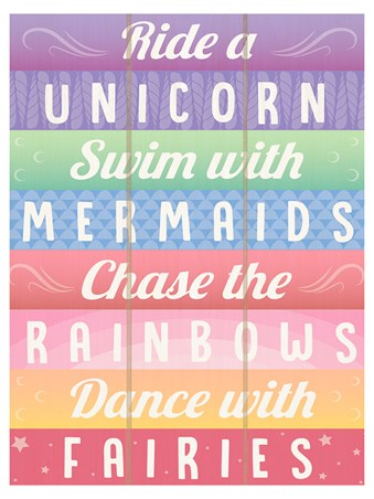 Framed Chasing Rainbows - The Ultimate To Do List