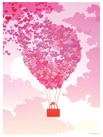 A Balloon Full Of Love - Love Is In The Air